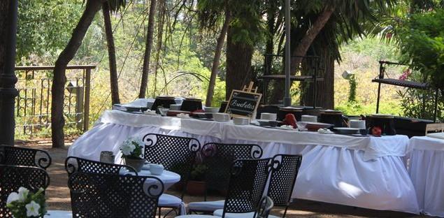 Catering de la boda.
