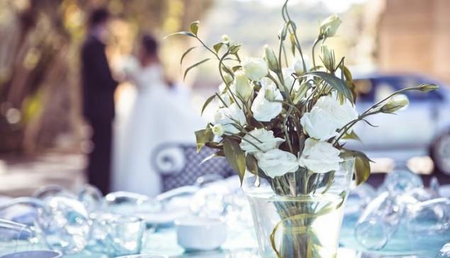 Flores de la boda.