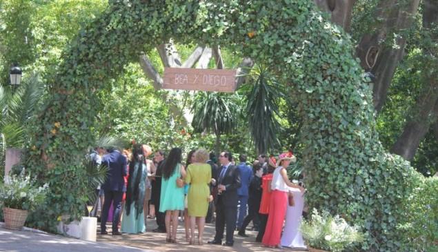 Invitados a la boda.