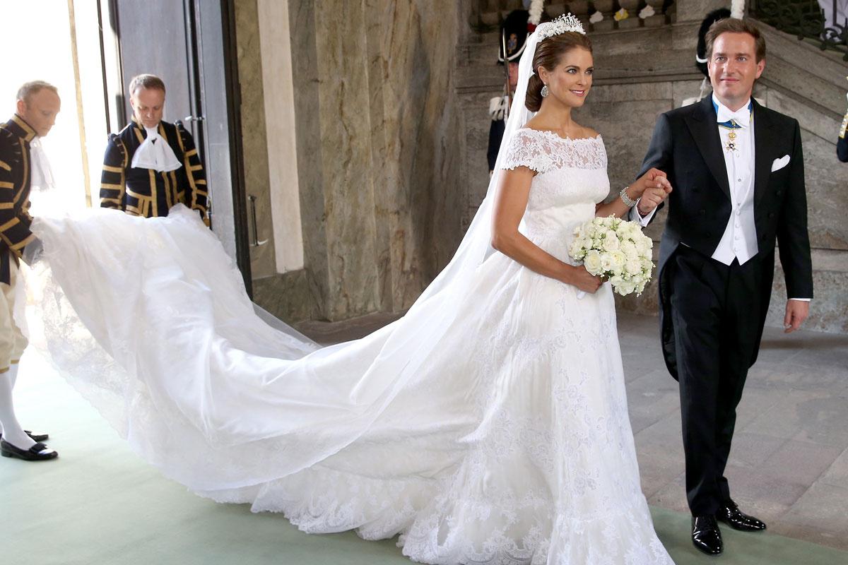 Chelsea Clinton vestido de novia