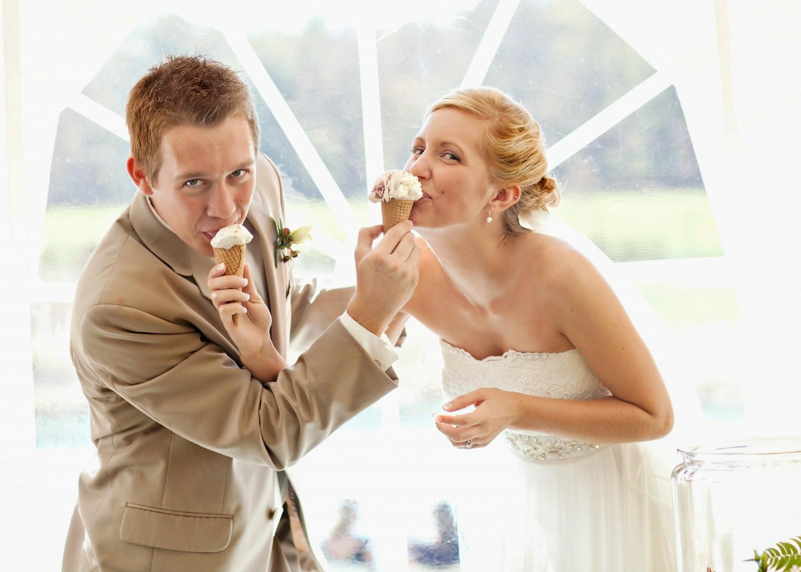boda con helados