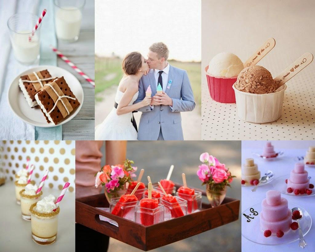 buffet de helados boda