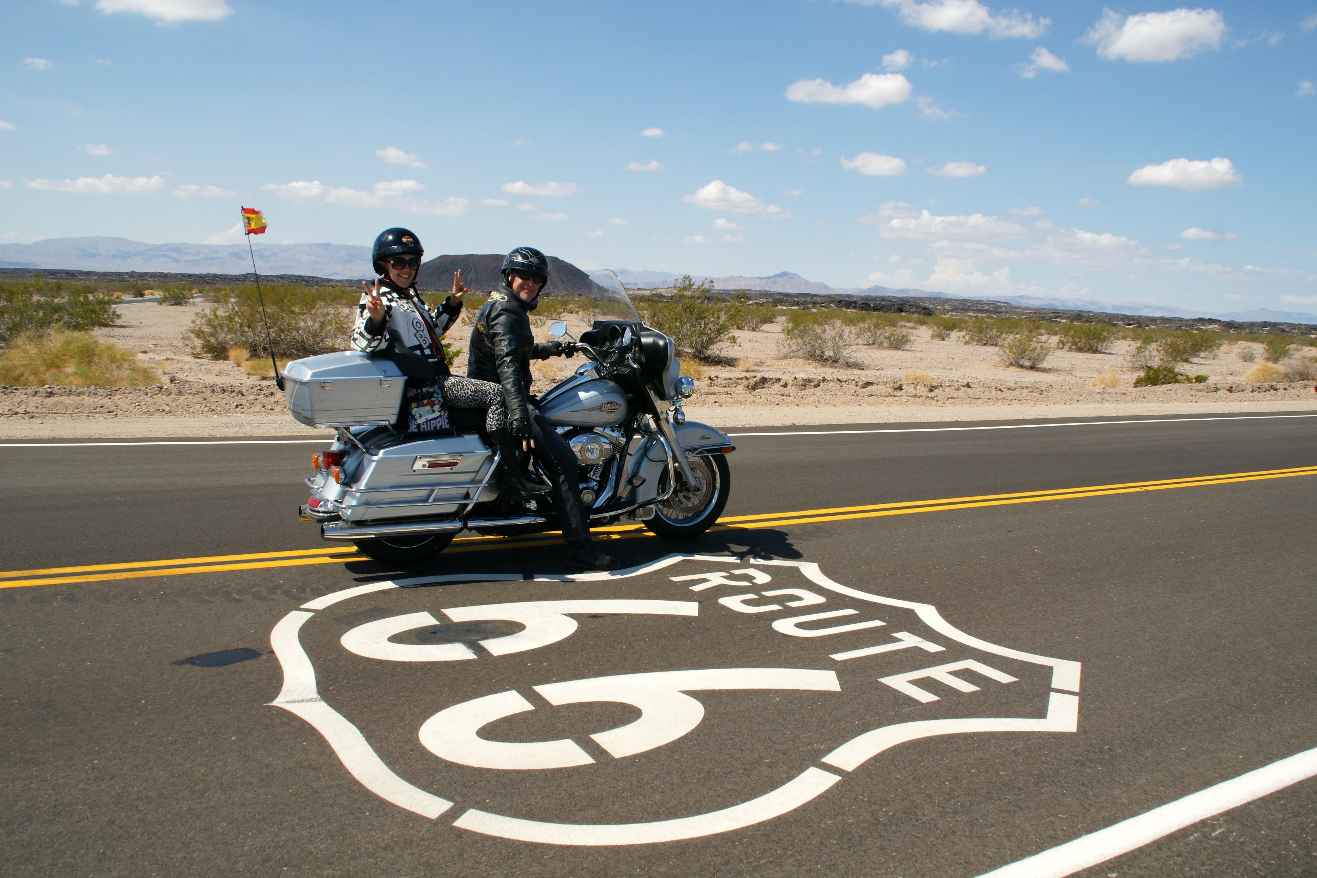 Moto Ruta 66