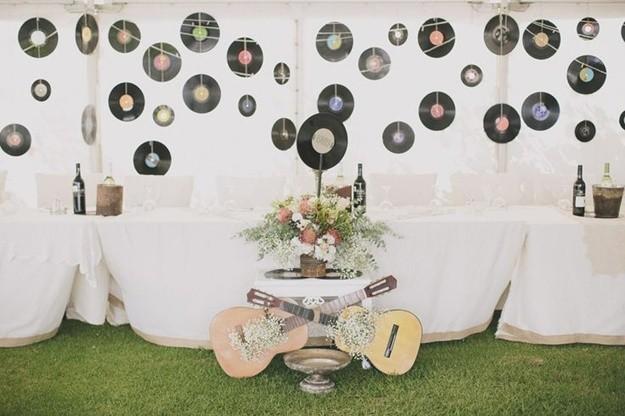Matrimonio Tema Idea : Una boda con temática musical hacienda nadales