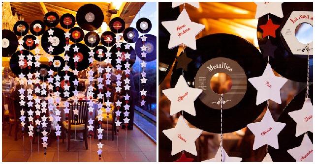 Matrimonio Tema Rock And Roll : Una boda con temática musical hacienda nadales